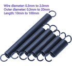 Expansion Springs Wire Diameter 0.3mm - 2.0mm Extension Tension Spring All Sizes
