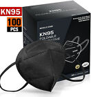 100/200 Pcs Black Color Kn95 Protective 5 Layer Face Mask Disposable K N95 Marks