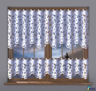 Kitchen Curtain Cafe Net Curtain Lace White Drop Sold By The Metre  Daisy
