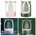 Rotate Christmas Tree Earring Holder Tabletop Jewelry Organizer Stand Tower