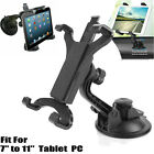 """360° Adjustable Bracket Car Windshield Suction Cup Mount For 7"""" to 8"""" Tablets PC"""