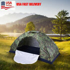 Outdoor 1-4 Person 4 Season Camping Hiking Waterproof Folding Tent Camouflage US