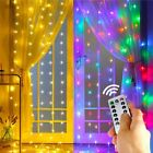 Fairy Led Lights Light Indoor Party Outdoor Christmas String Tree Curtain Icicle