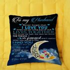 Donald Duck and Daisy Duck I Love You To My Husband Pillow cover