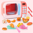 Kids Educational Mini Kitchen Toy Set Pretend Play Food Oven Girls Boys Gift  For Sale