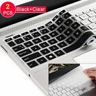 """2 PACK Lapogy Waterproof Keyboard Cover Skin for 15.6"""" HP Pavilion - Fit closely"""