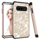 Silicone Glitter Case for Samsung S10 S9 Plus / Note 9 Hybrid Shockproof Cover
