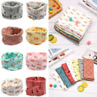 Mask Printed Windproof Neck Warmer Collar Scarves Children Cotton Scarf Cotton