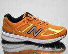 New Balance 990 Made In USA Men's Orange Casual Lifestyle Sneakers Shoes