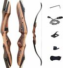 """Deerseeker 62"""" Takedown Recurve Bow Archery for Hunting and Targeting Shooting 3"""