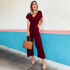 Womens Jumpsuits Ladies Playsuit Overalls Casual Party Romper Long Pants Summer