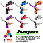 Hope Tech 3 X2 Front and Rear Brakes w/ Braided Hose - CUSTOM COLORS New