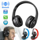 Wireless Bluetooth 5.0 Headphone Foldable Stereo Earphone Super Bass Headset Mic