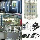 US 5050 White Store Front LED Window Light Module Sign Lamp  Remote  US Power