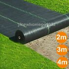 100gsm Heavy Duty Weed Control Fabric Membrane Garden Ground Cover Mat Landscape