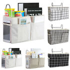 Bedside Caddy Hanging Storage Bed Holder Couch Organizer Container Bag Pockets