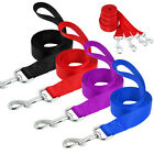 4ft Nylon Dog Lead Small Puppy Walking Leash with Handle Soft Durable 120cm XS-L