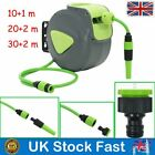 10/20/30M Water Hose Reel Automatic Retractable Wall Mounted Garden Watering UK