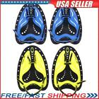 Silicone Swimming Hand Webbed Diving Gloves Fin Flipper Water Learn Trainer