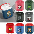 Cute Illust Case Cover with Avengers for Airpods 1st / 2nd generation