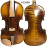 More images of Baroque style song maestro violin 4 / 4, inlay shell,powerful sound #12618