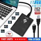 1x USB 1TB   2TB Portable External Hard Disk Drive HDD Storage For PC Laptop picture