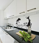 "Wall Sticker - Vinyl Wall Art - ""Dolphin"""