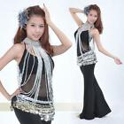Belly Dance Costume Long Bead Body Necklace
