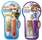 Triple Pet EZ Dog Toothbrush / Toothpaste Remove Plaque