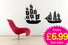 Wall Stickers, Large, Ships and Pirates, Ships, Pirates
