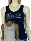 Southpole Ladies Diva stretch vest top - XS to L BNWT