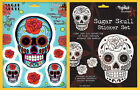BIG Rose Sugar Skull Stickers Tattoo Art by Sunny Buick