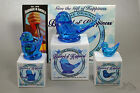 "Terra Studios ""The Original Bluebird of Happiness"" Glass Figurine NEW Gift Boxed"
