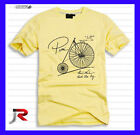 Mens BNWT J&R T-shirt RRP44.95 White Yellow sz M L XL