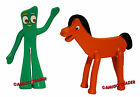 GUMBY & POKEY Mini Figure - Bendable Poseable Flexible Collectible Toy - NEW