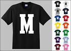 Capital Letter M Alphabet T-Shirt
