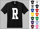 Capital Letter R Alphabet T-Shirt
