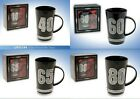 30th, 40th 50th 60th 65th 70th 80th Birthday Diamante Latte Mug Boxed Gift Bnew