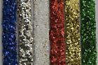 """50 g Coarse PVC Glitter 040"""" - Choose from Red, Green, Gold, White, Silver, Blue"""