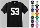 Number 53 Fifty Three T-Shirt