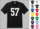 Number 57 Fifty Seven T-Shirt