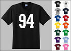 Number 94 Ninety Four T-Shirt