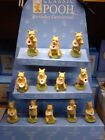 *WINNIE-THE-POOH CLASSIC* *BIRTHSTONE/GEMSTONE RESIN FIGURINES *NEW*