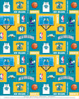 New Orleans Hornets NBA Basketball Team Sports Fleece Fabric Print #s012hornetss on eBay