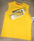 Puma BOYS Yellow Tank Top SIZE-4 , 5 or 6 NWT