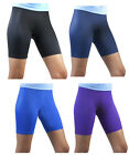Female Spandex Compression Womens Exercise Shorts Running Short Made in the USA