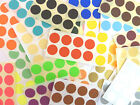 19mm Round Colour Code dot Stickers Coloured Circles Sticky Adhesive spot Labels