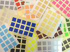 10x10mm Square Colour Code Stickers Coloured Sticky Self-Adhesive Labels