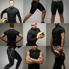 Mens Compression Base Under Layers Tights Tops T-Shirts Golf Hunting Skin Gear