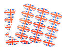 Union Jack Gift Wrap Retail Product Seal Stickers British Flag Sticky GB Labels